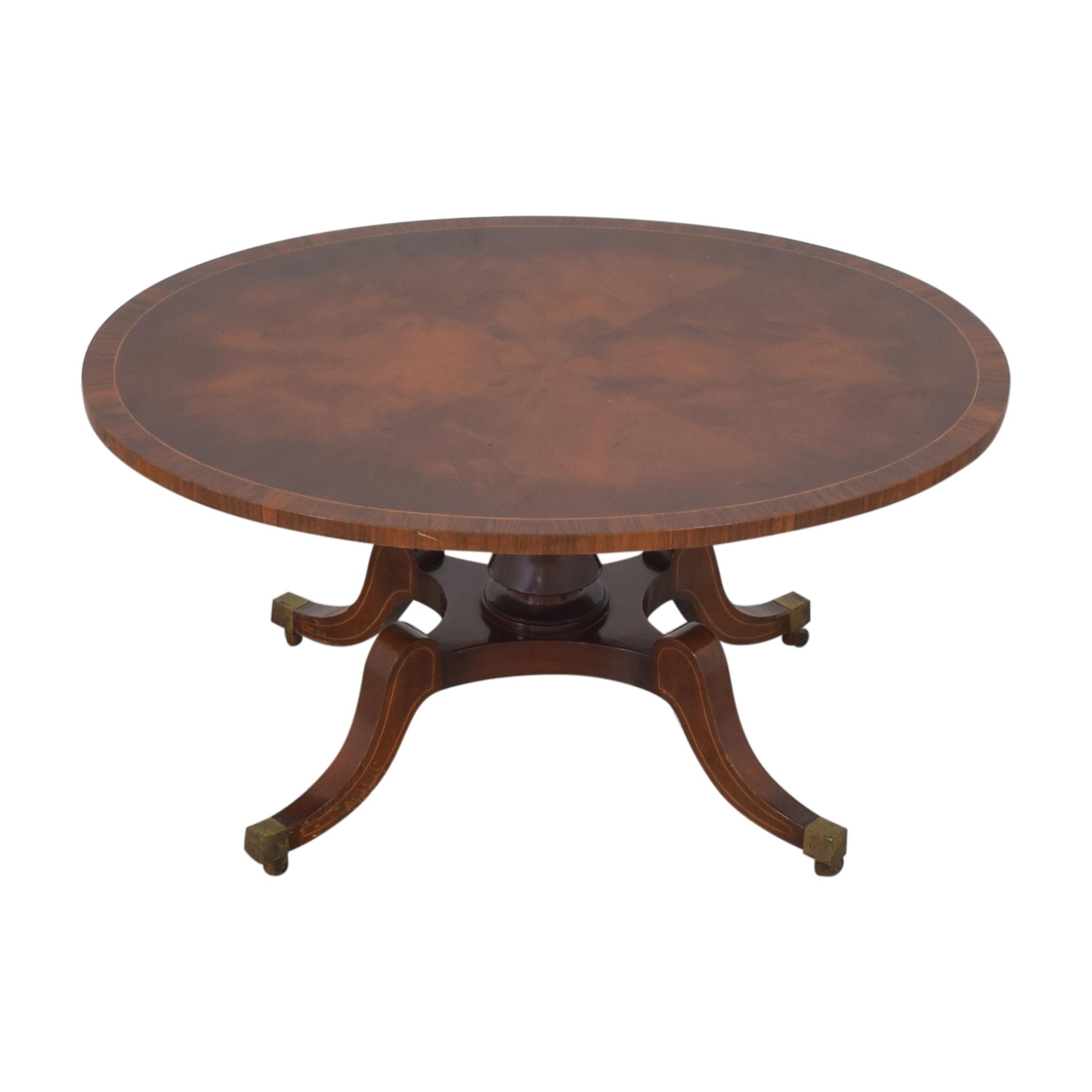 Oval Coffee Table on sale