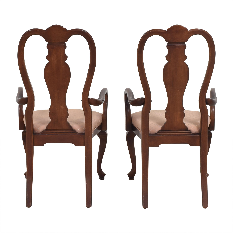 Bernhardt Bernhardt Queen Anne Dining Arm Chairs used