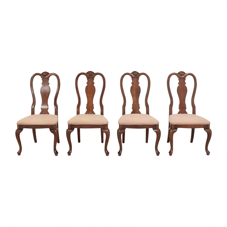 Bernhardt Queen Anne Dining Chairs sale
