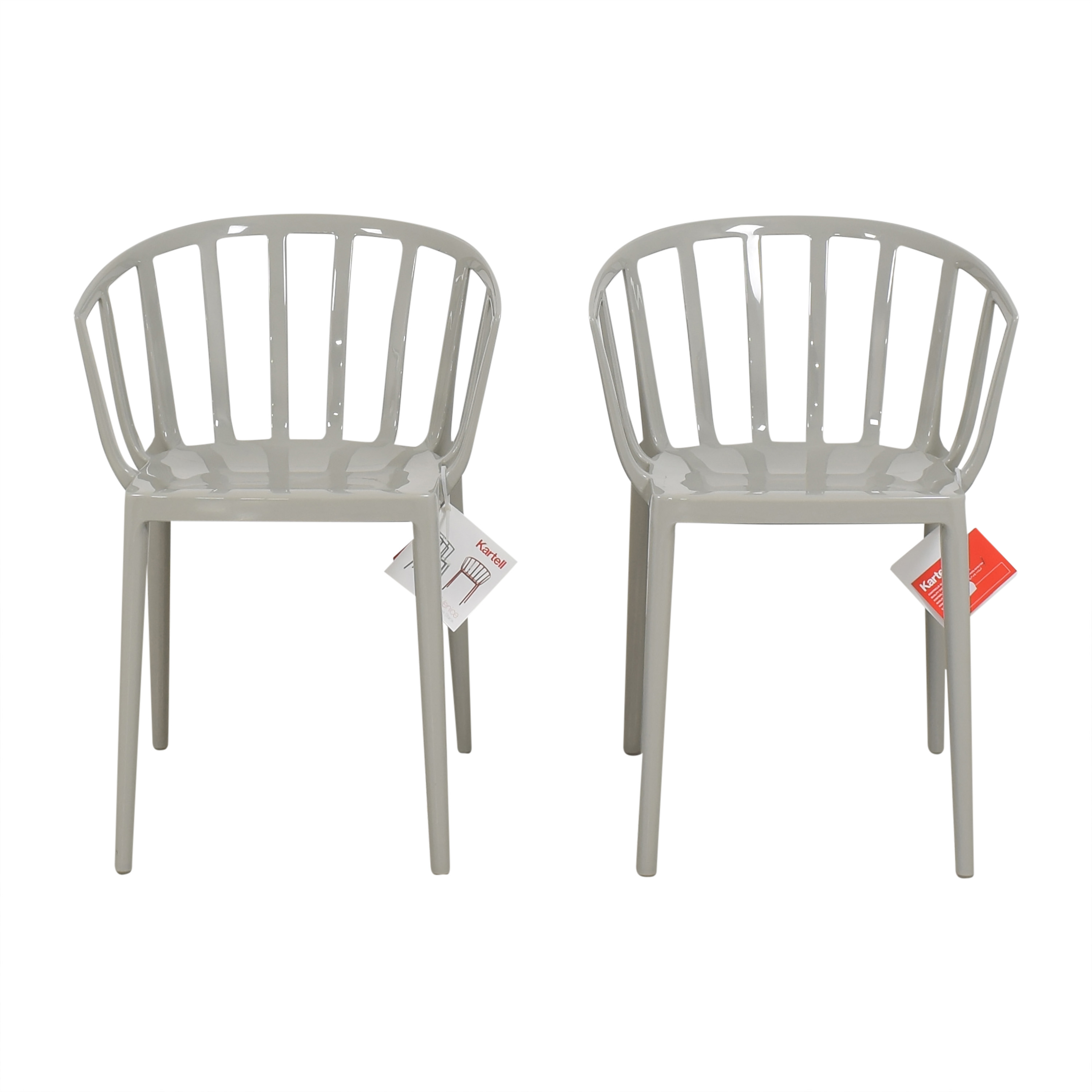 Kartell Kartell Venice Arm Chairs second hand
