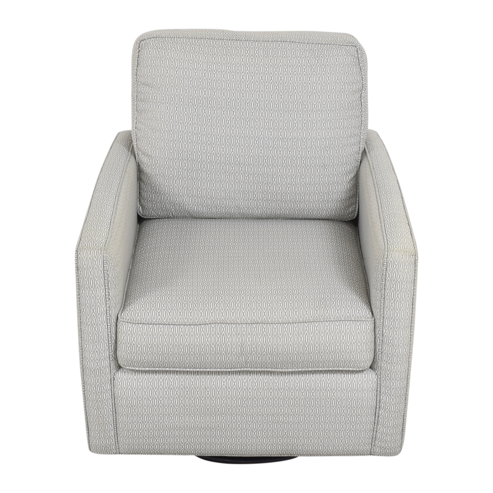 Younger Furniture Younger Furniture Lincoln Swivel Glider Chair dimensions