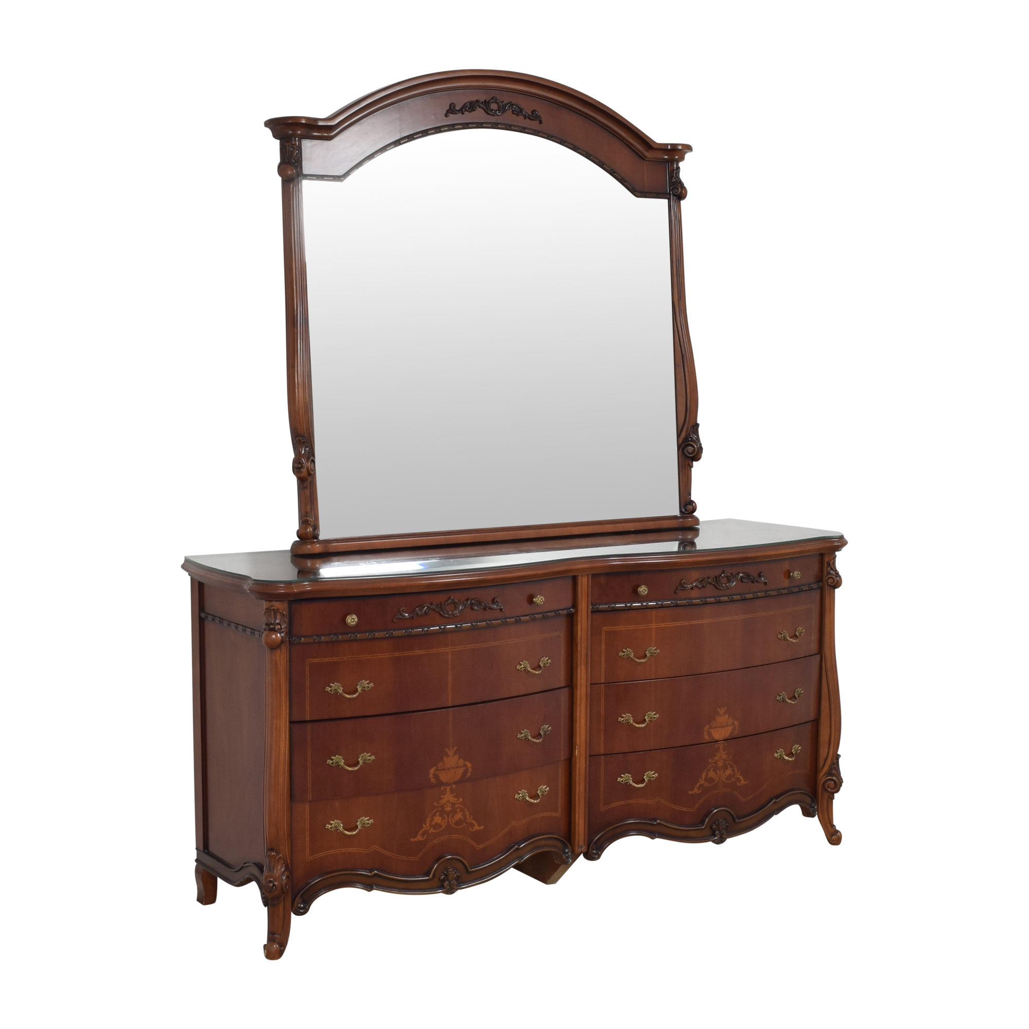 Double Dresser with Mirror / Dressers