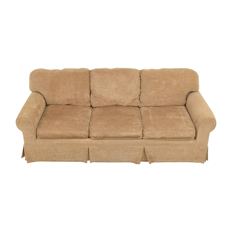 Pearson Pearson Three Cushion Skirted Sofa second hand