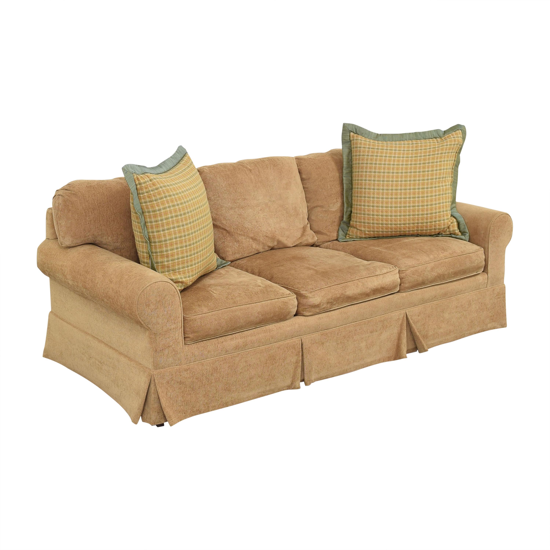 Pearson Three Cushion Skirted Sofa Pearson