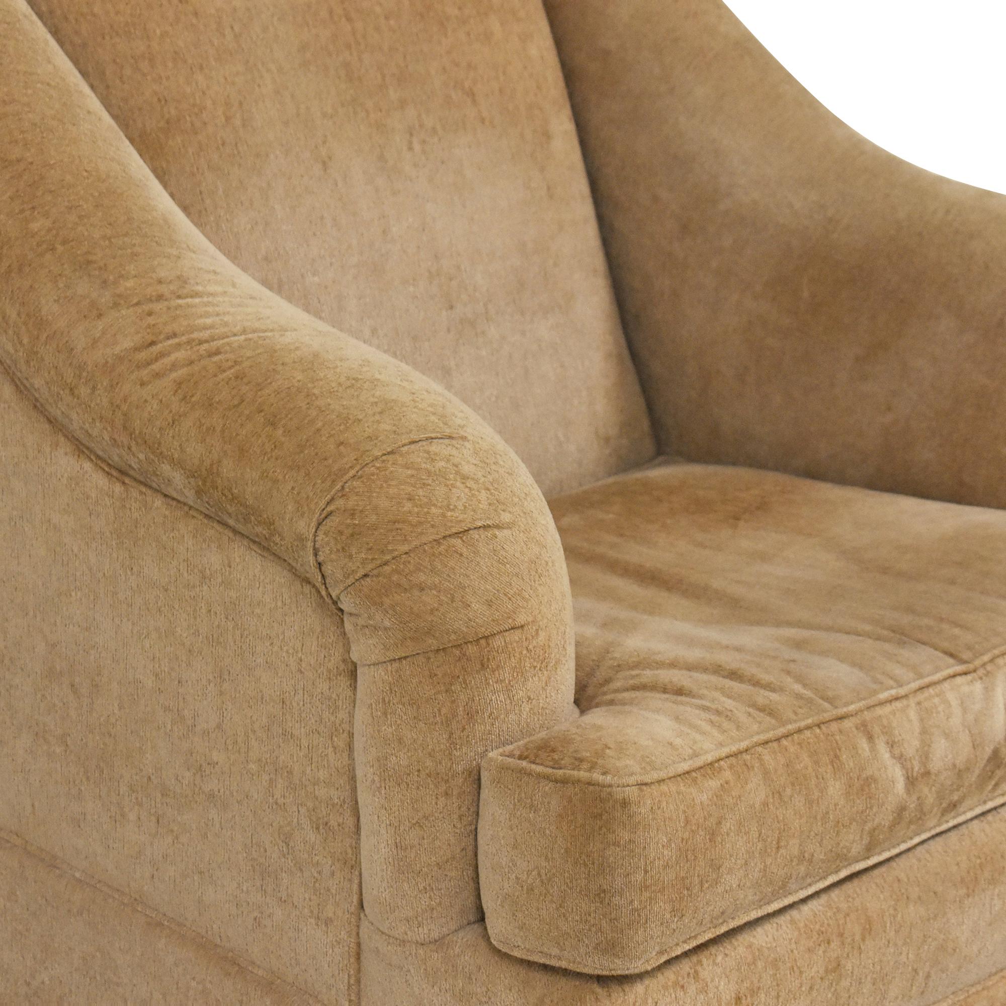 Pearson Pearson Skirted Accent Chair tan