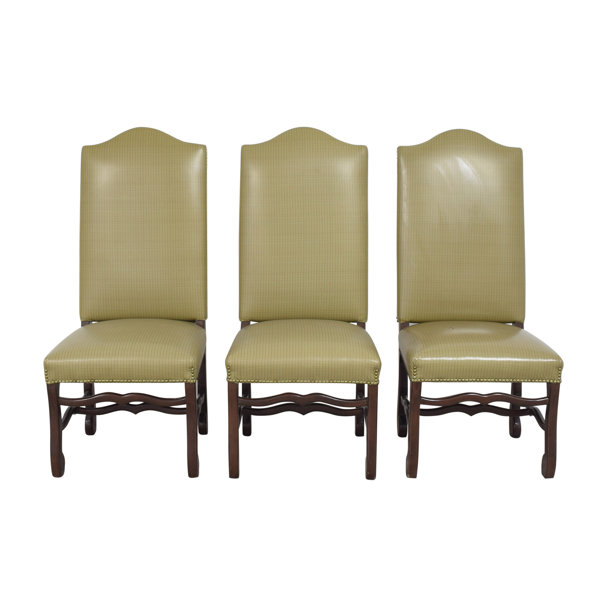 shop Pearson Plaid Dining Chairs Pearson Dining Chairs