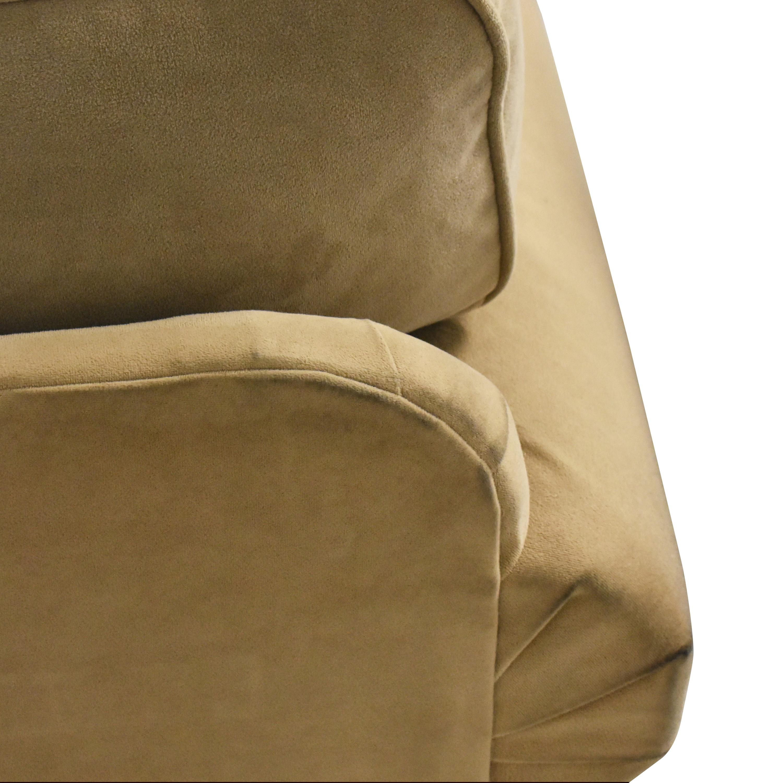 Macy's Three Cushion Roll Arm Sofa Macy's