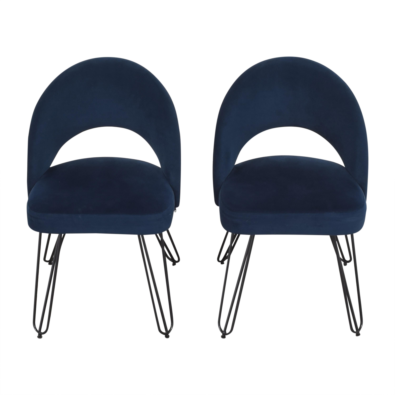 shop Safavieh Jora Retro Side Chairs Safavieh Accent Chairs