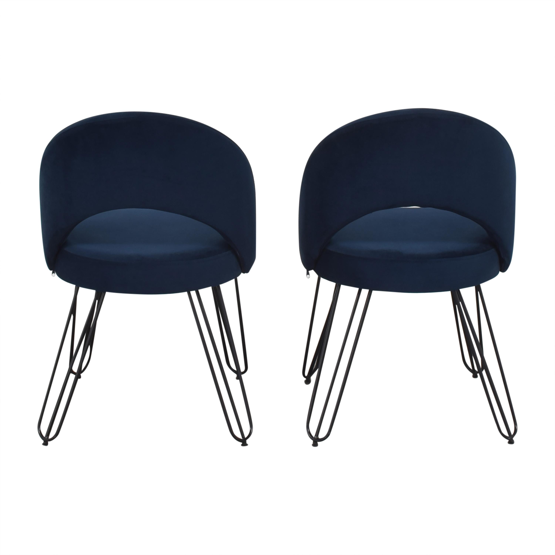 shop Safavieh Jora Retro Side Chairs Safavieh Chairs