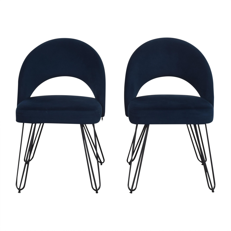 Safavieh Safavieh Jora Retro Side Chairs nj