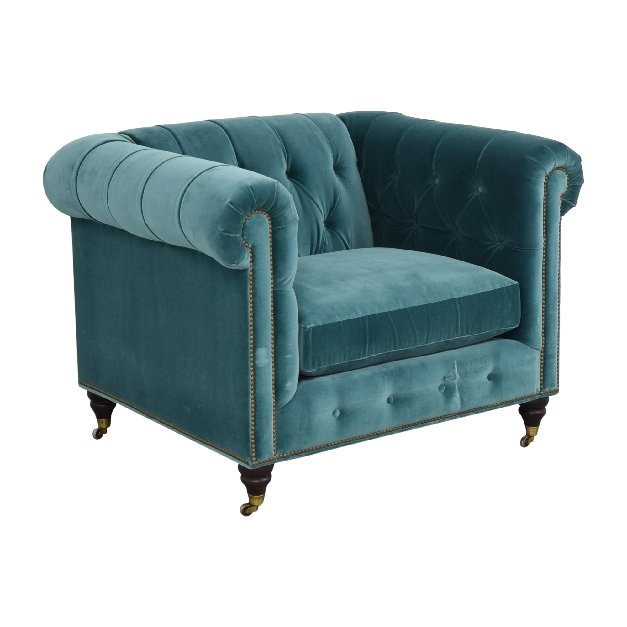 Anthropologie Anthropologie Lyre Chesterfield Chair second hand