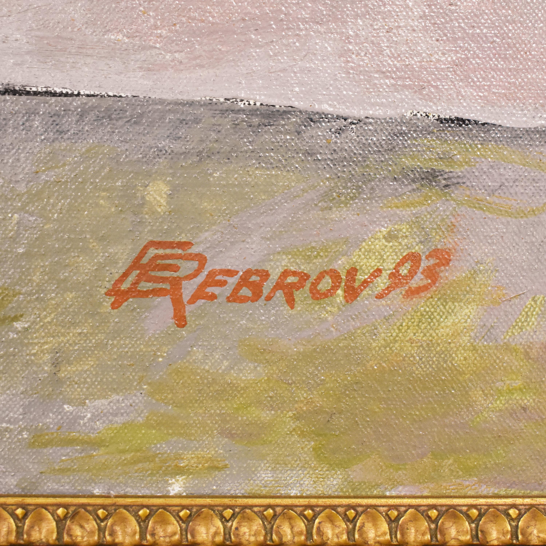 E Rebrov Framed Wall Art Decor