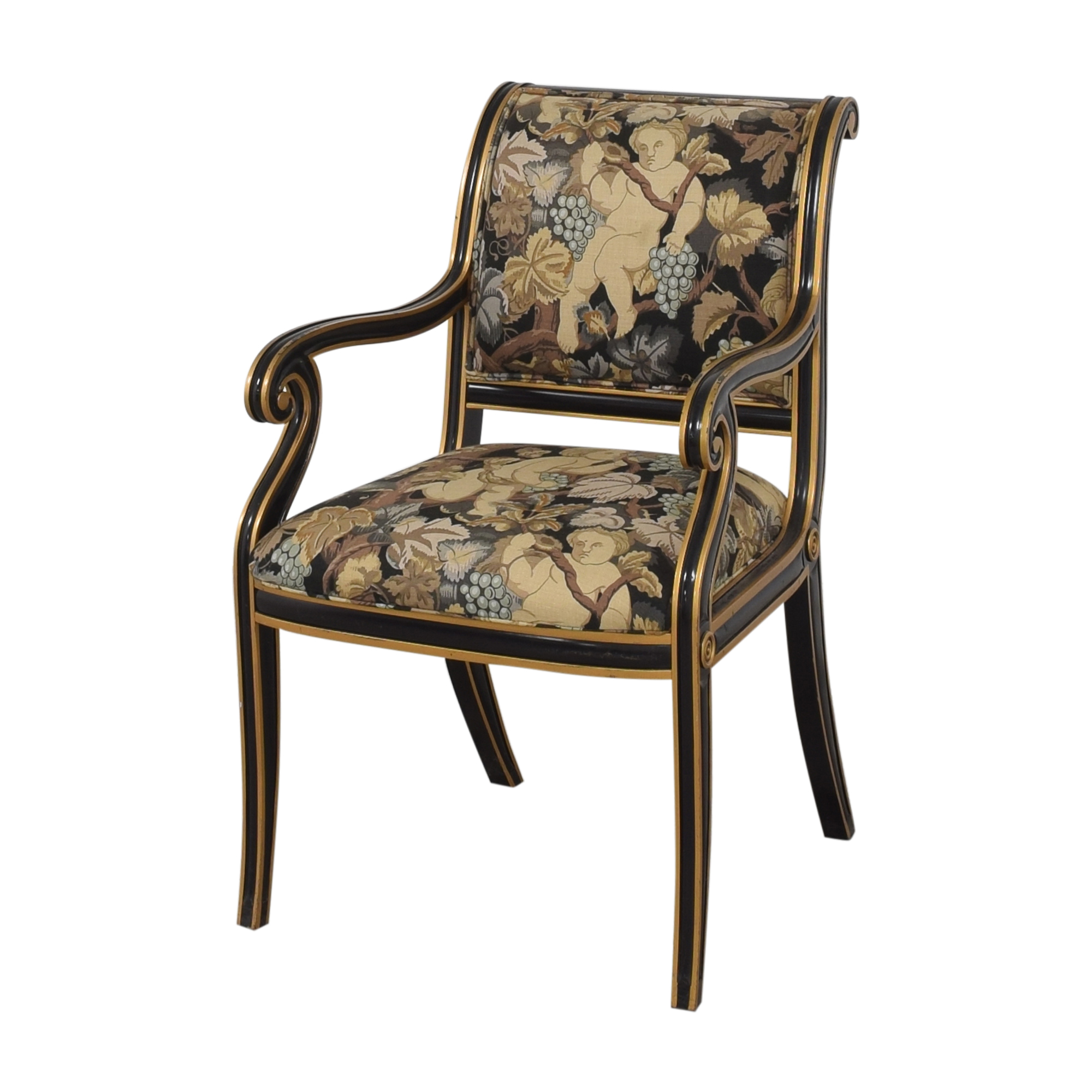 buy Councill Councill Floral Scroll Dining Arm Chairs online