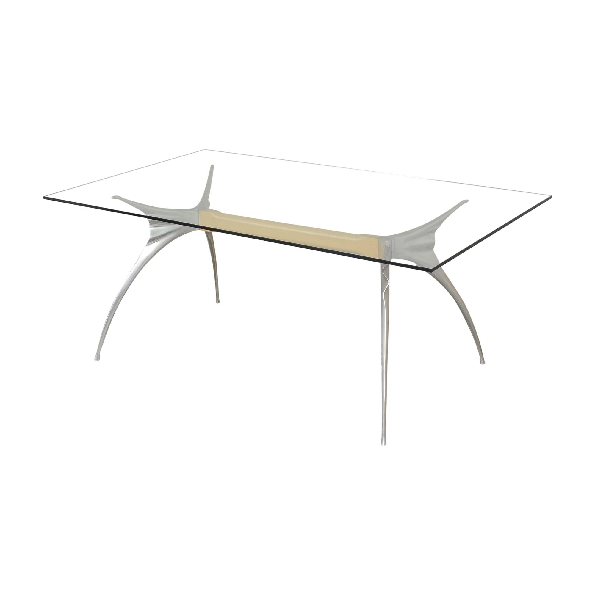 Protis Protis Transparent Dining Table nj