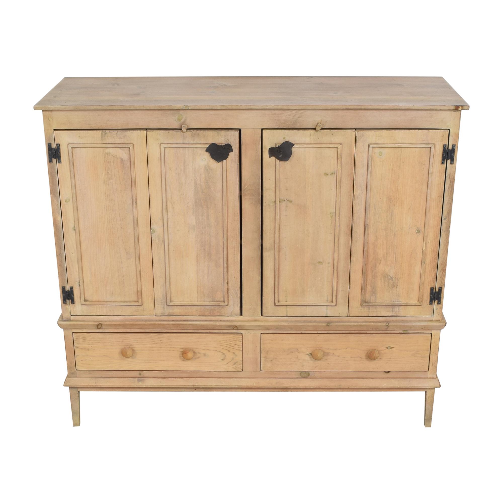 shop Rustic Double Cabinet  Storage