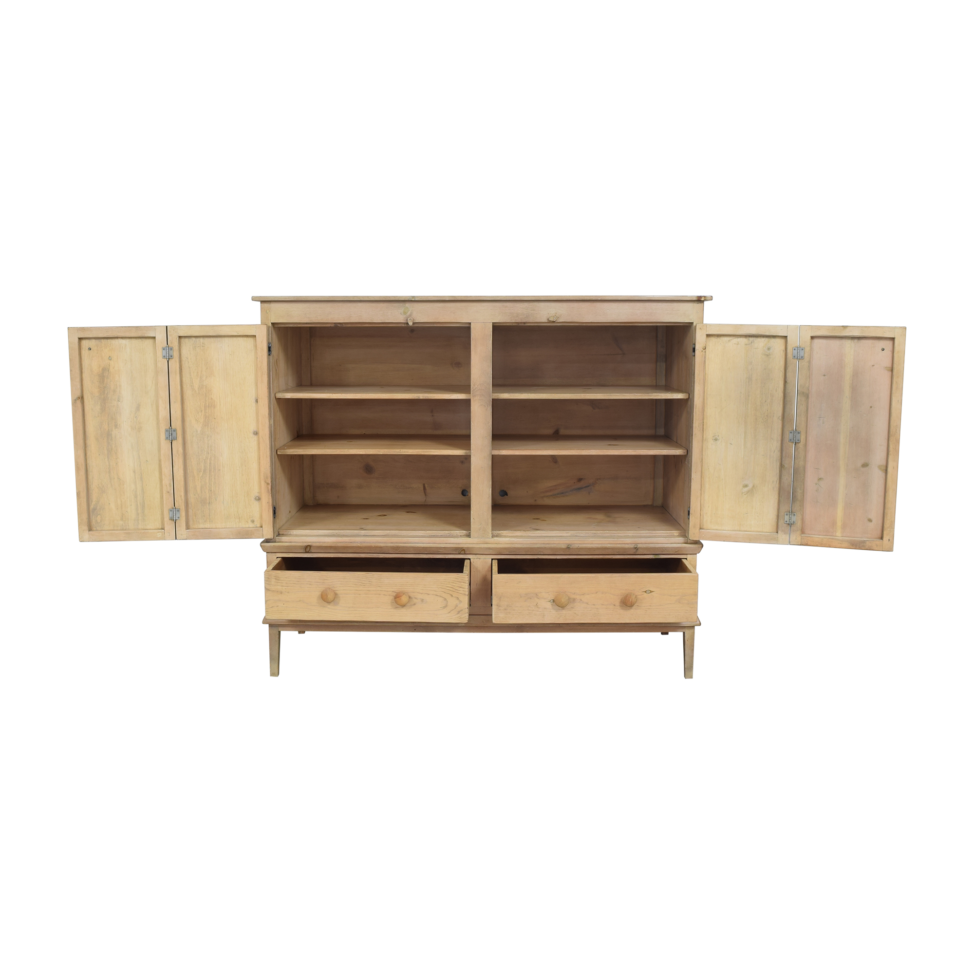 shop Rustic Double Cabinet  Cabinets & Sideboards