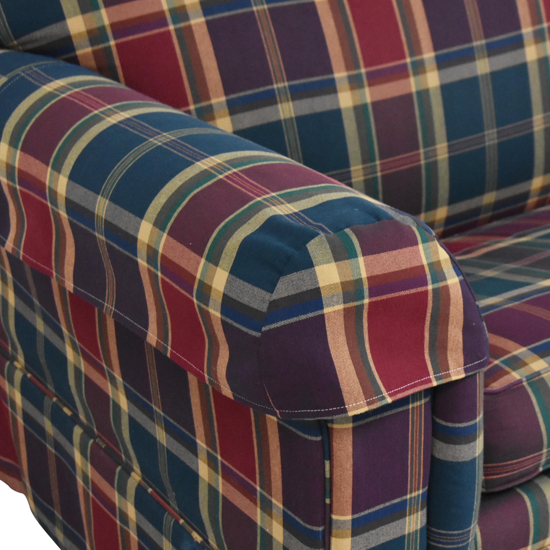 Leggett & Platt Leggett & Platt Plaid Sleeper Sofa multi