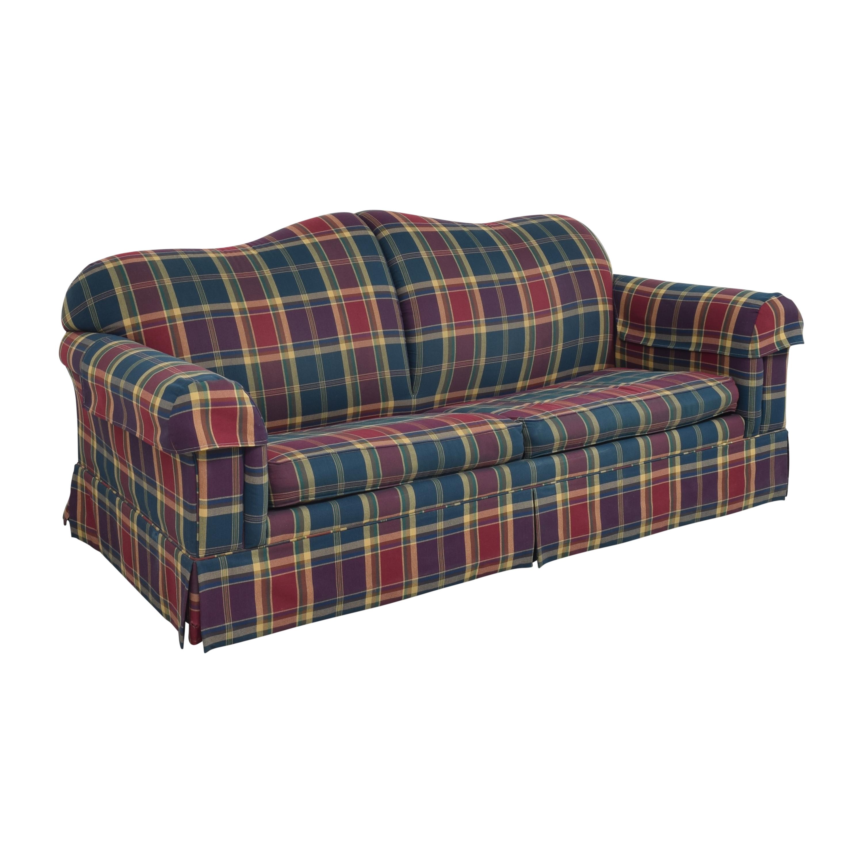 Leggett & Platt Leggett & Platt Plaid Sleeper Sofa coupon