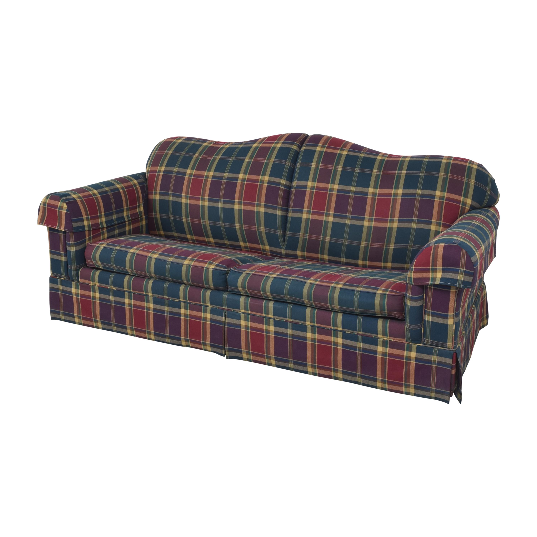 Leggett & Platt Leggett & Platt Plaid Sleeper Sofa nyc