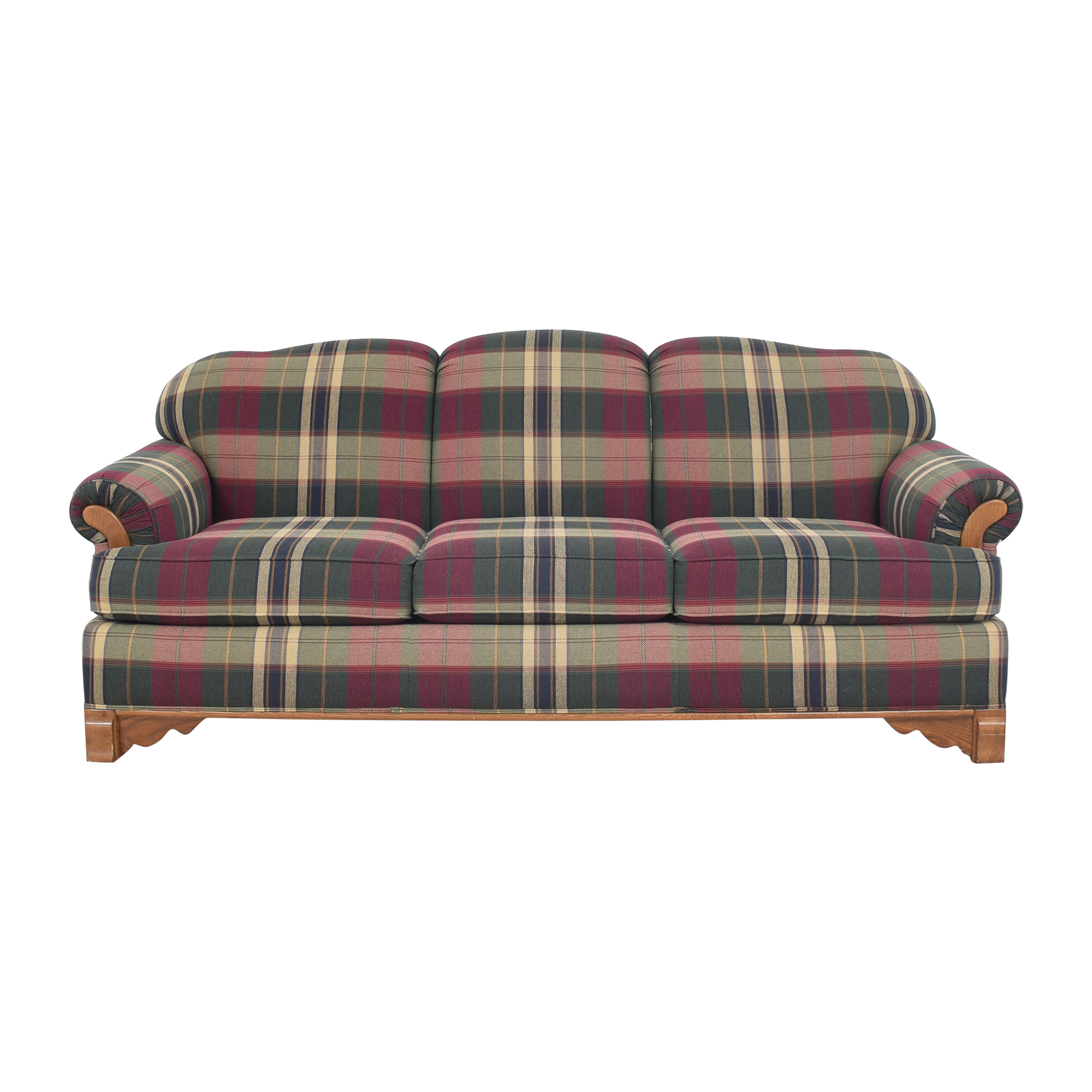 shop Cochran Plaid Sofa Cochrane Sofas