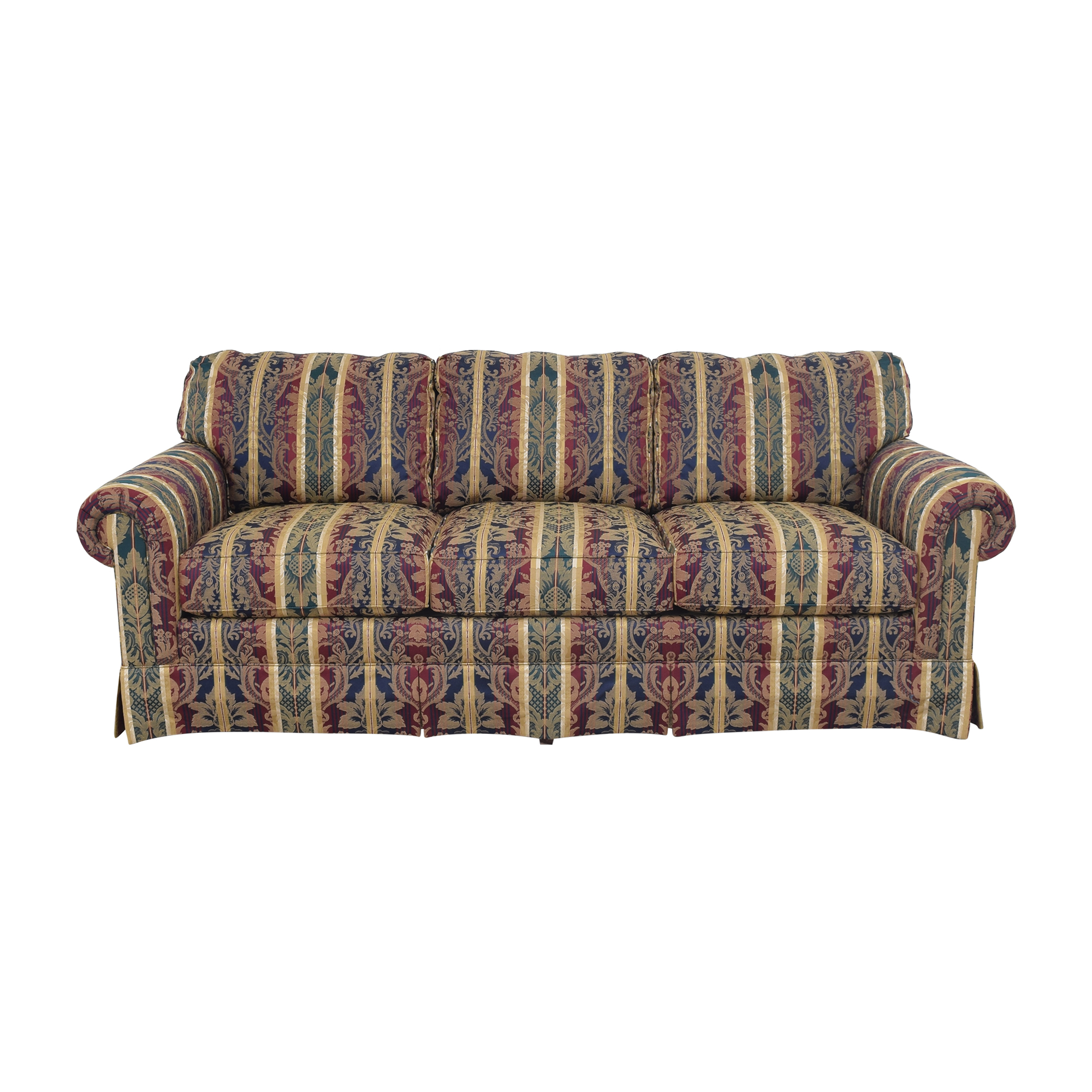 Sherrill Furniture Sherrill Furniture Roll Arm Sofa pa
