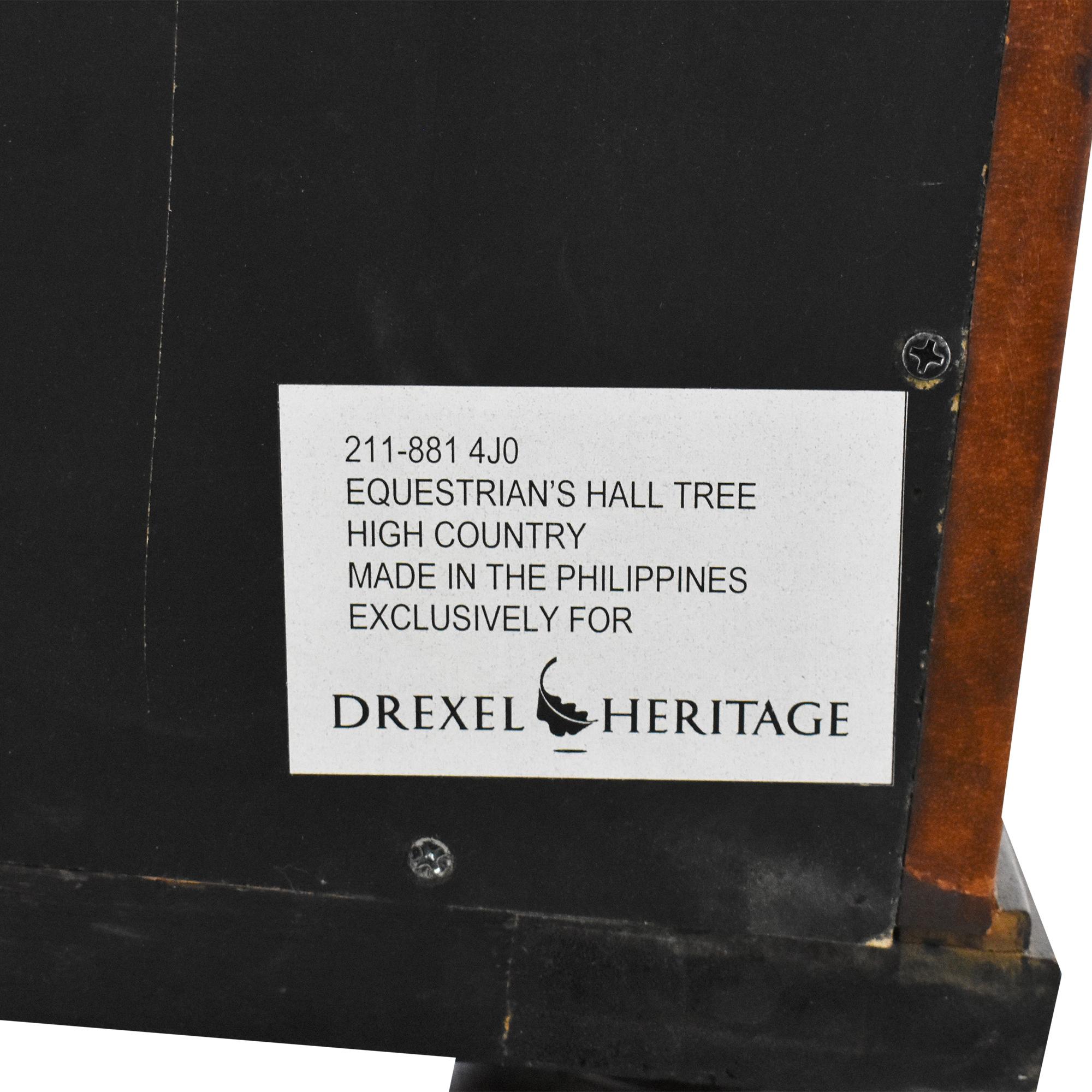 buy Drexel Heritage Equestrian's Hall Tree Drexel Heritage Storage