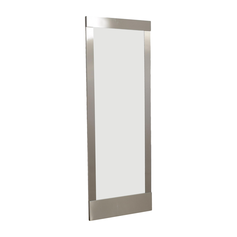 Crate & Barrel Crate & Barrel Colby Floor Mirror discount