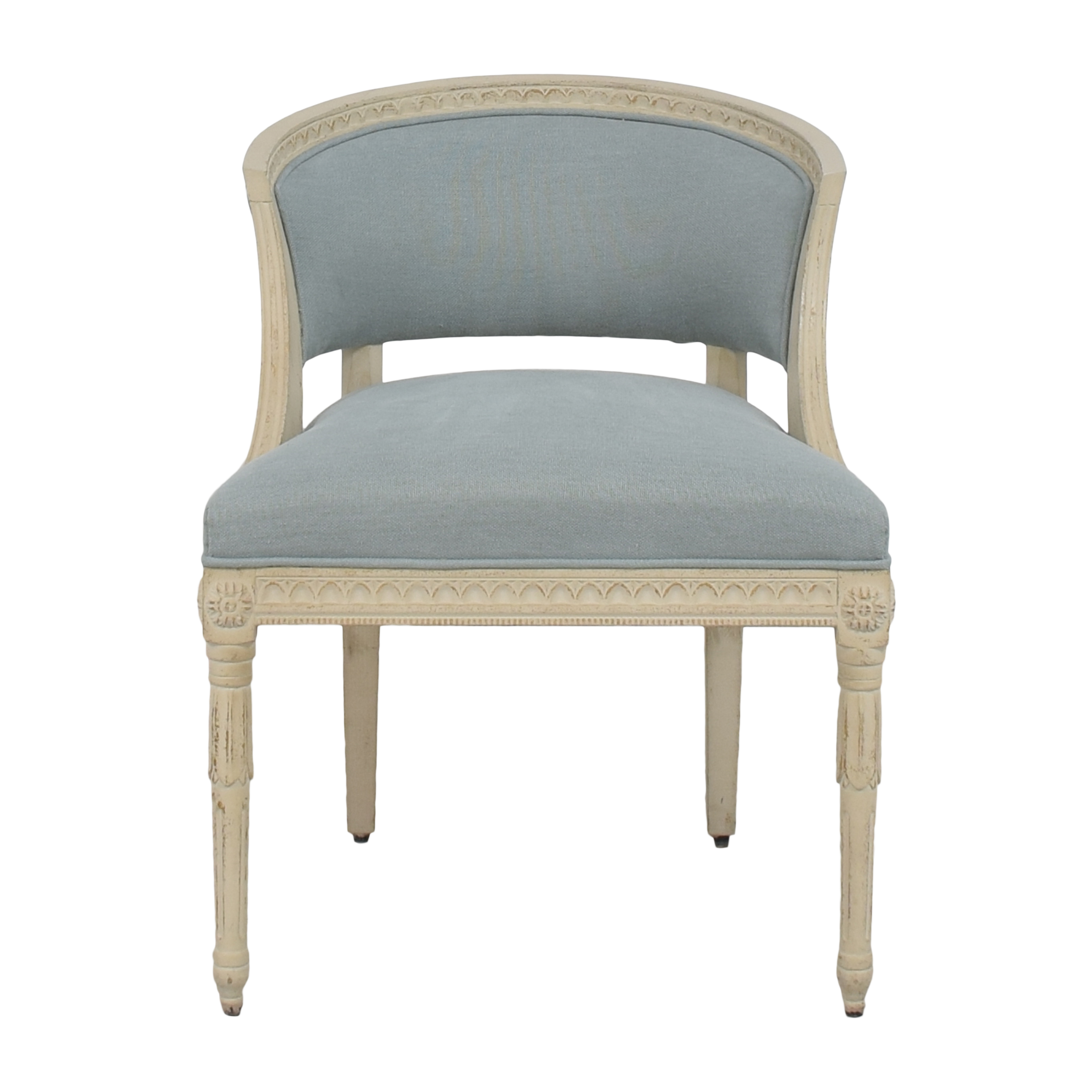 shop One Kings Lane Upholstered Accent Chair One Kings Lane Accent Chairs