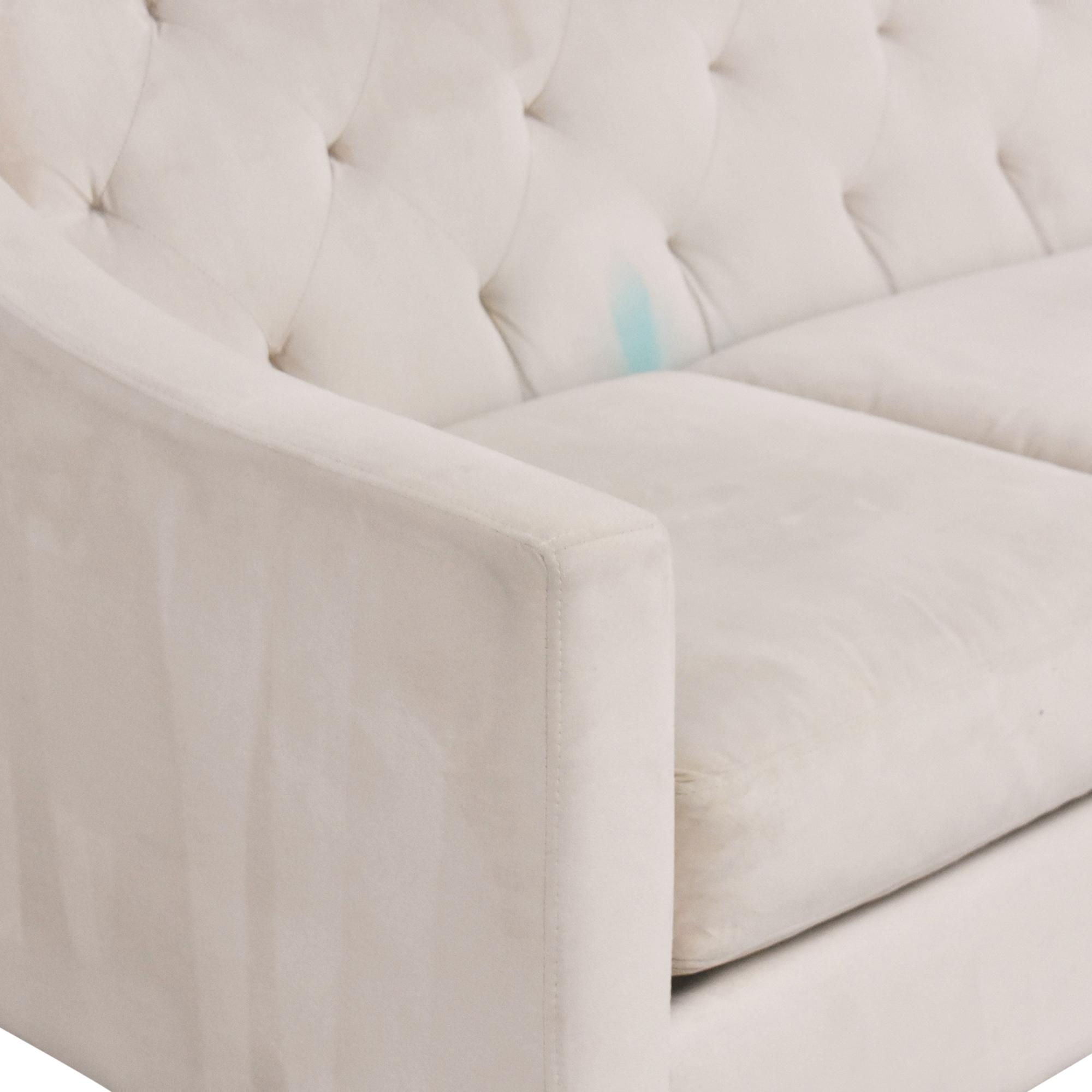 shop Macy's Chloe II Three Cushion Sofa Macy's Classic Sofas