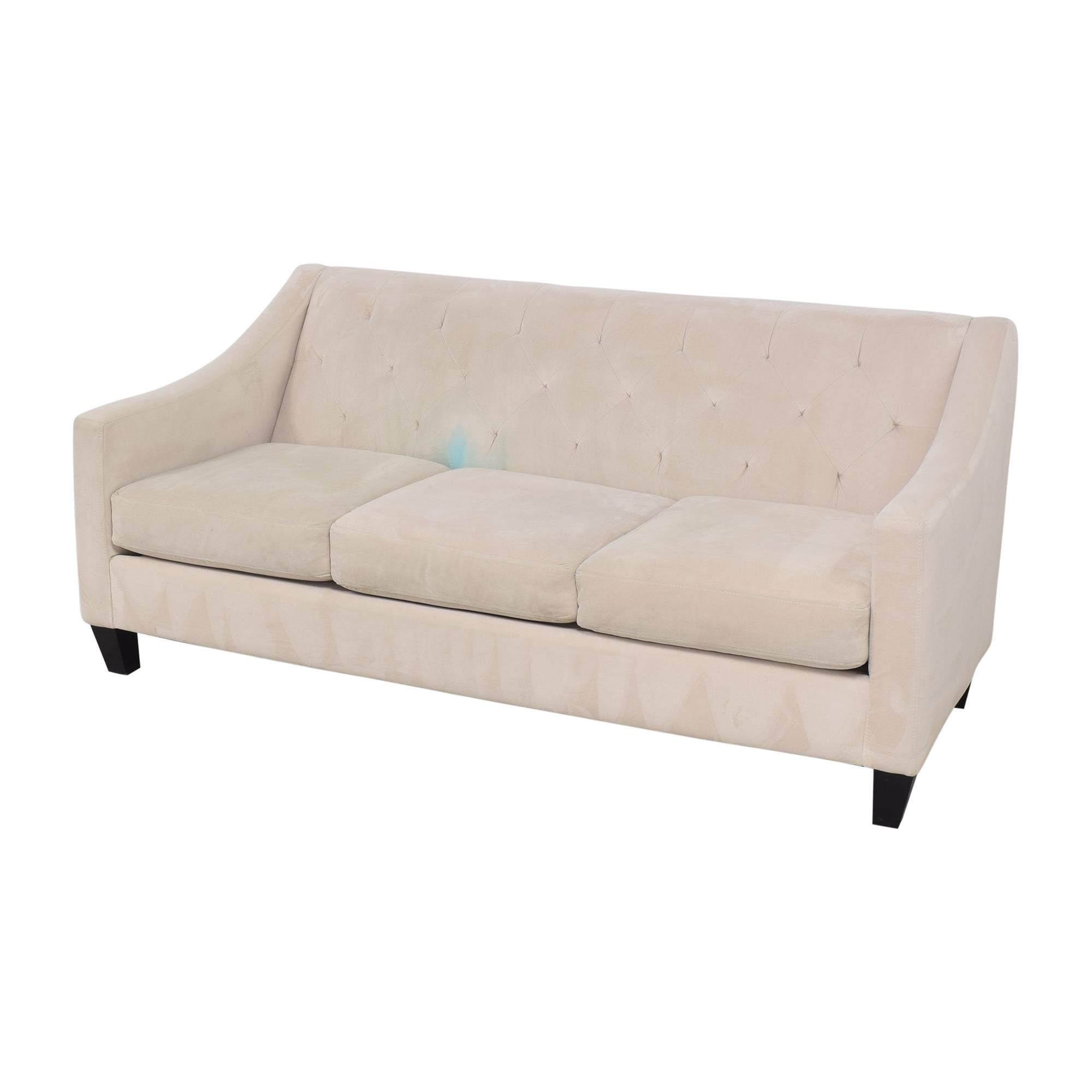 Macy's Macy's Chloe II Three Cushion Sofa