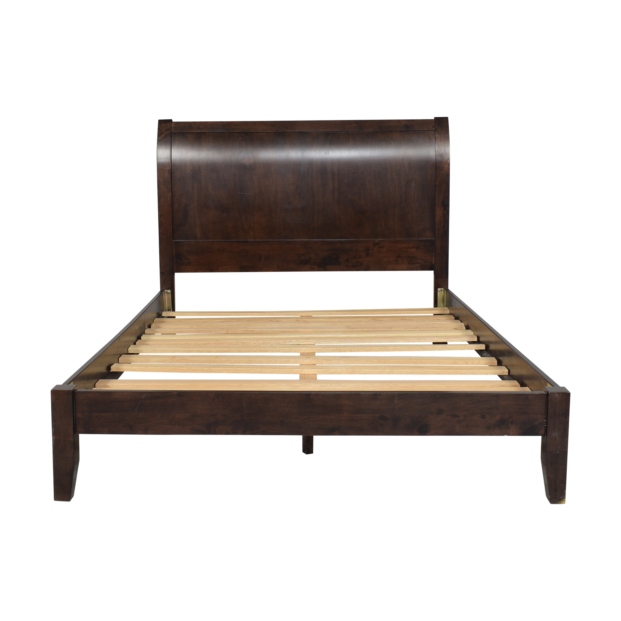 Queen Sleigh Bed on sale