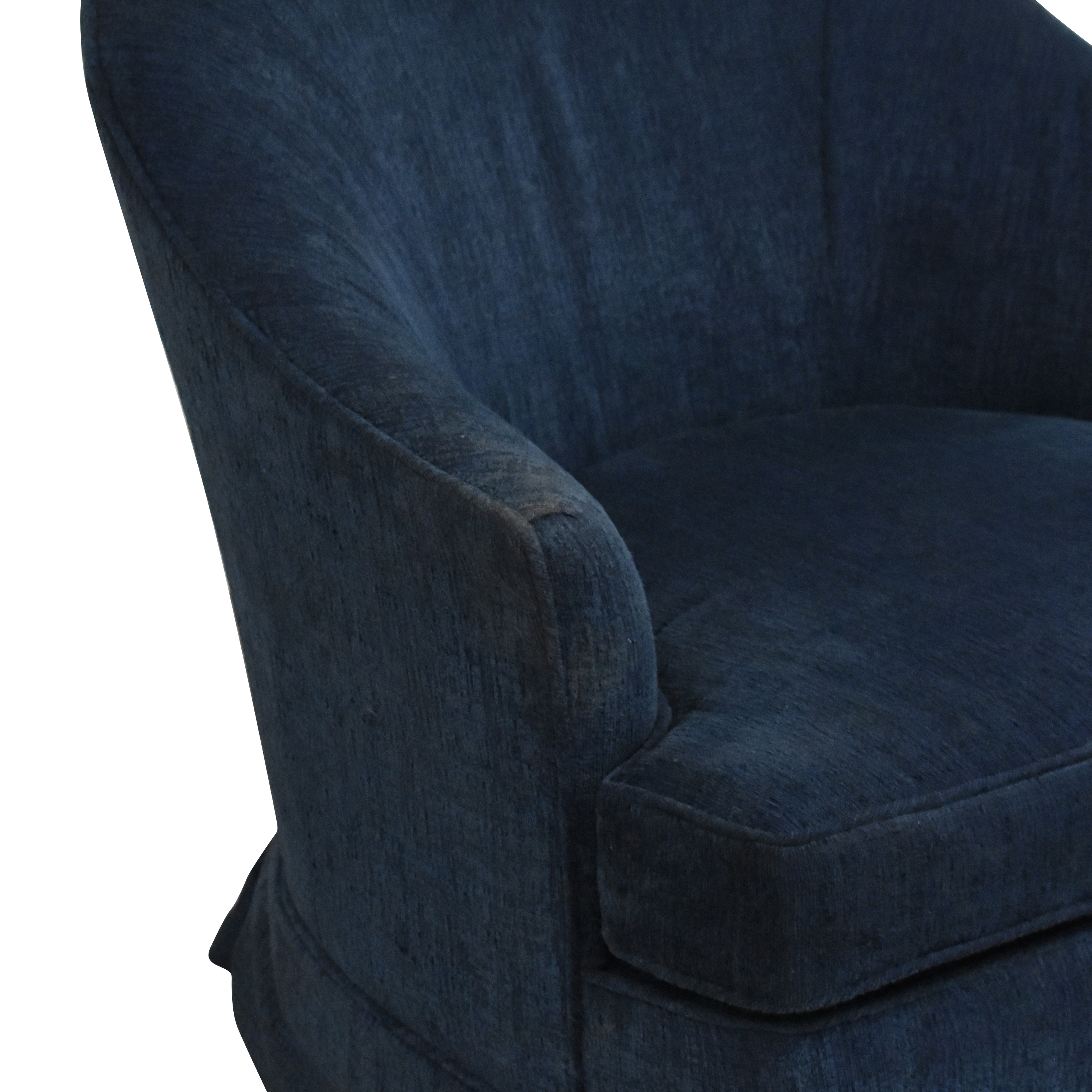Carlyle Upholstered Swivel Armchair / Accent Chairs