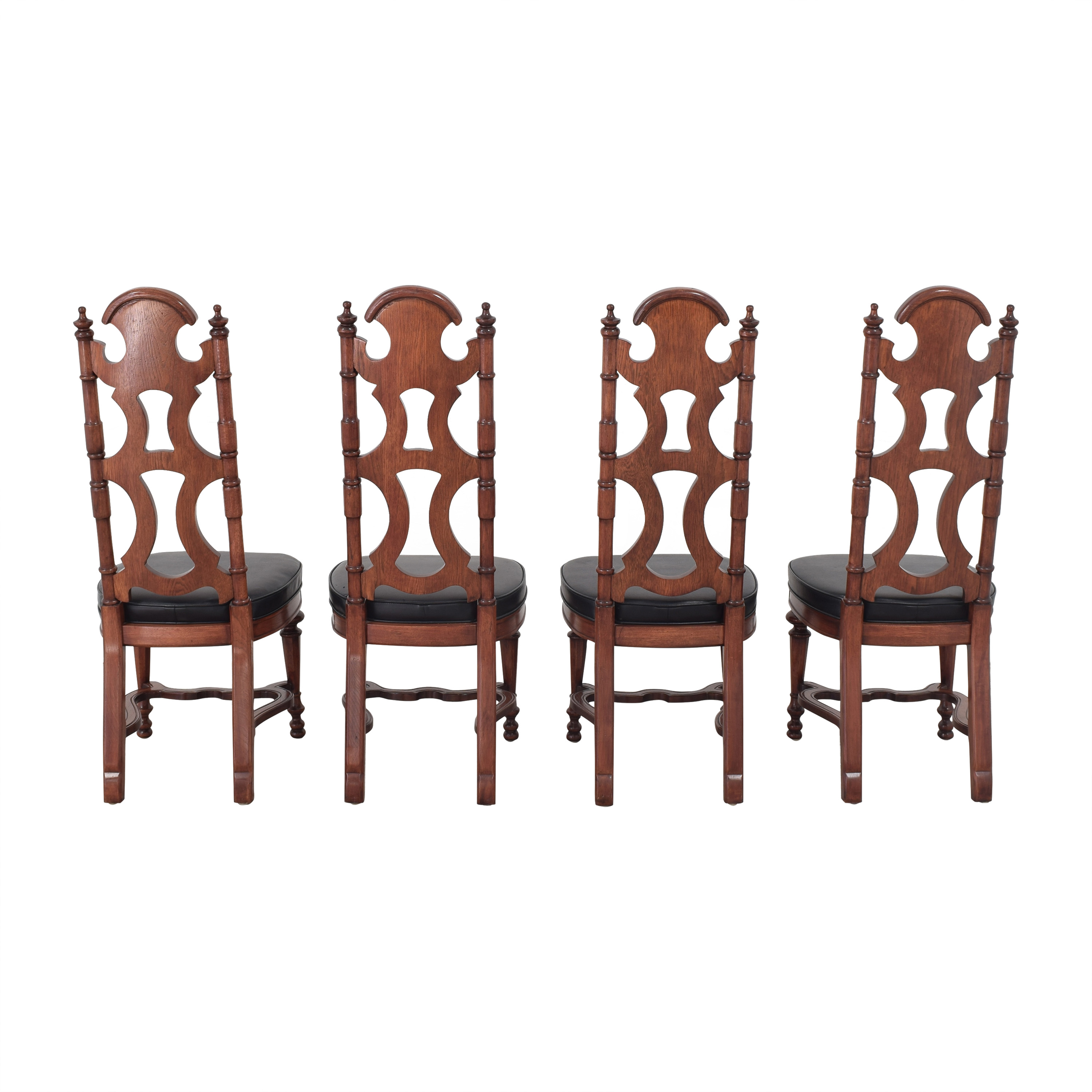 Drexel Drexel High Back Dining Chairs used