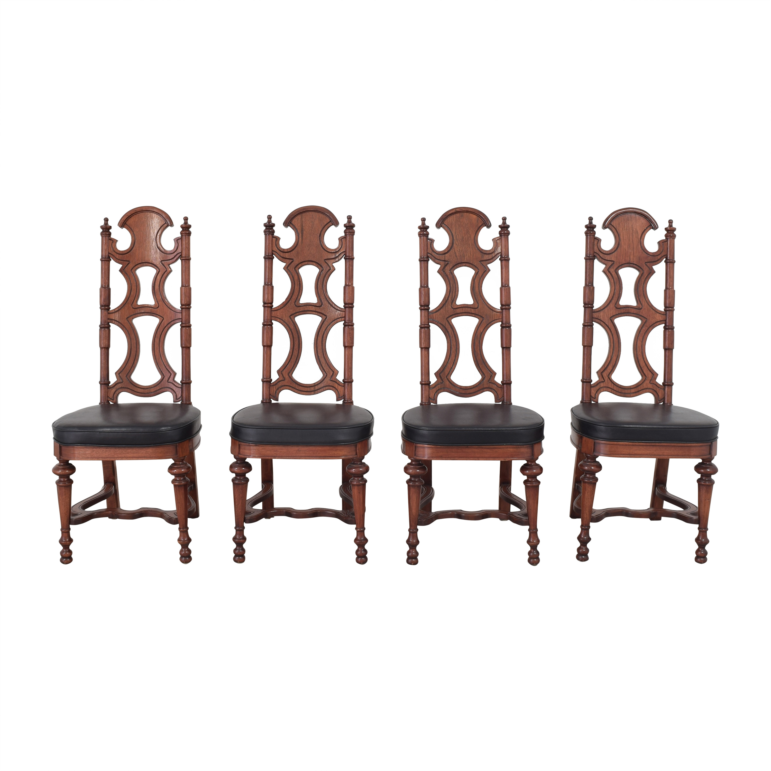 Drexel Drexel High Back Dining Chairs dimensions