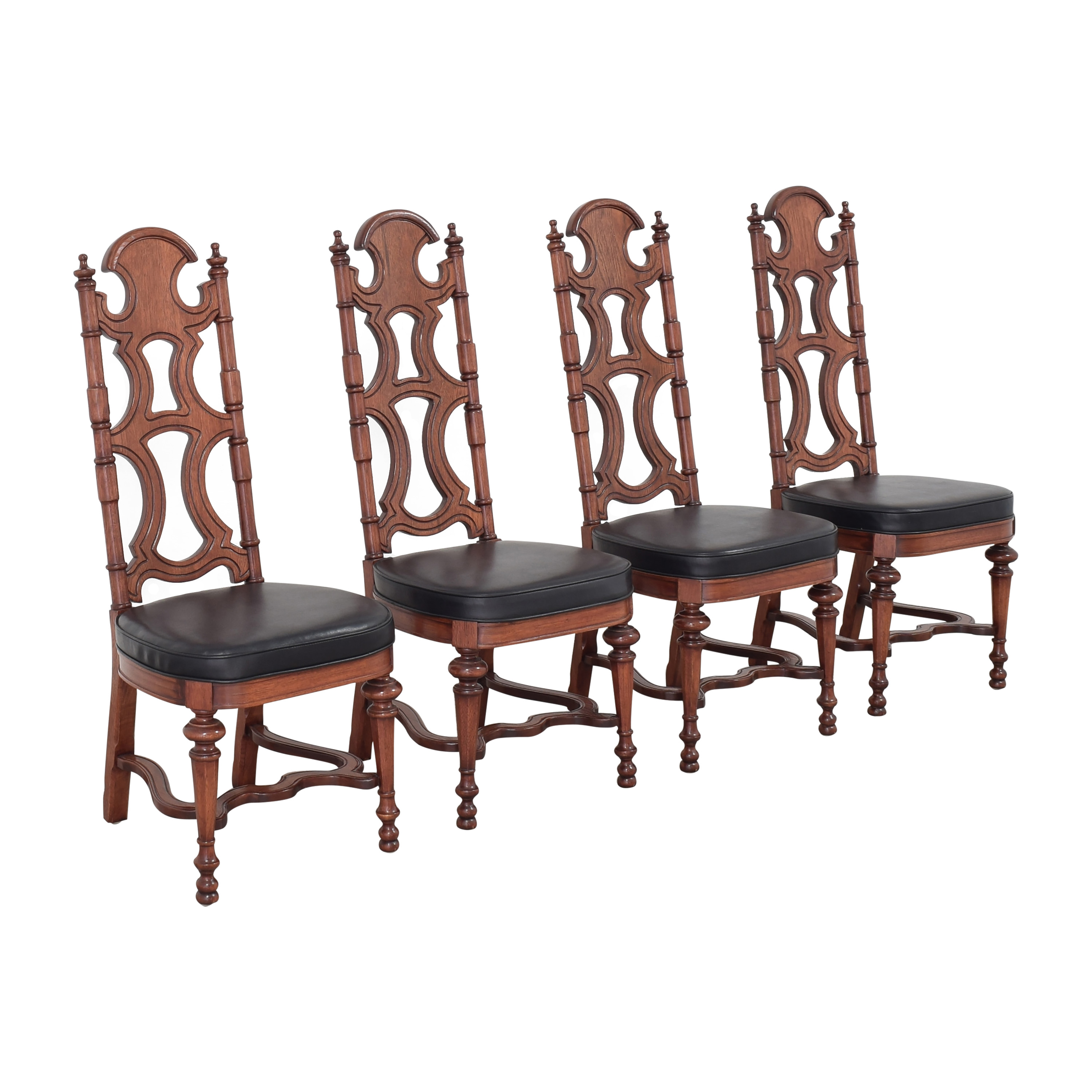 Drexel High Back Dining Chairs Drexel
