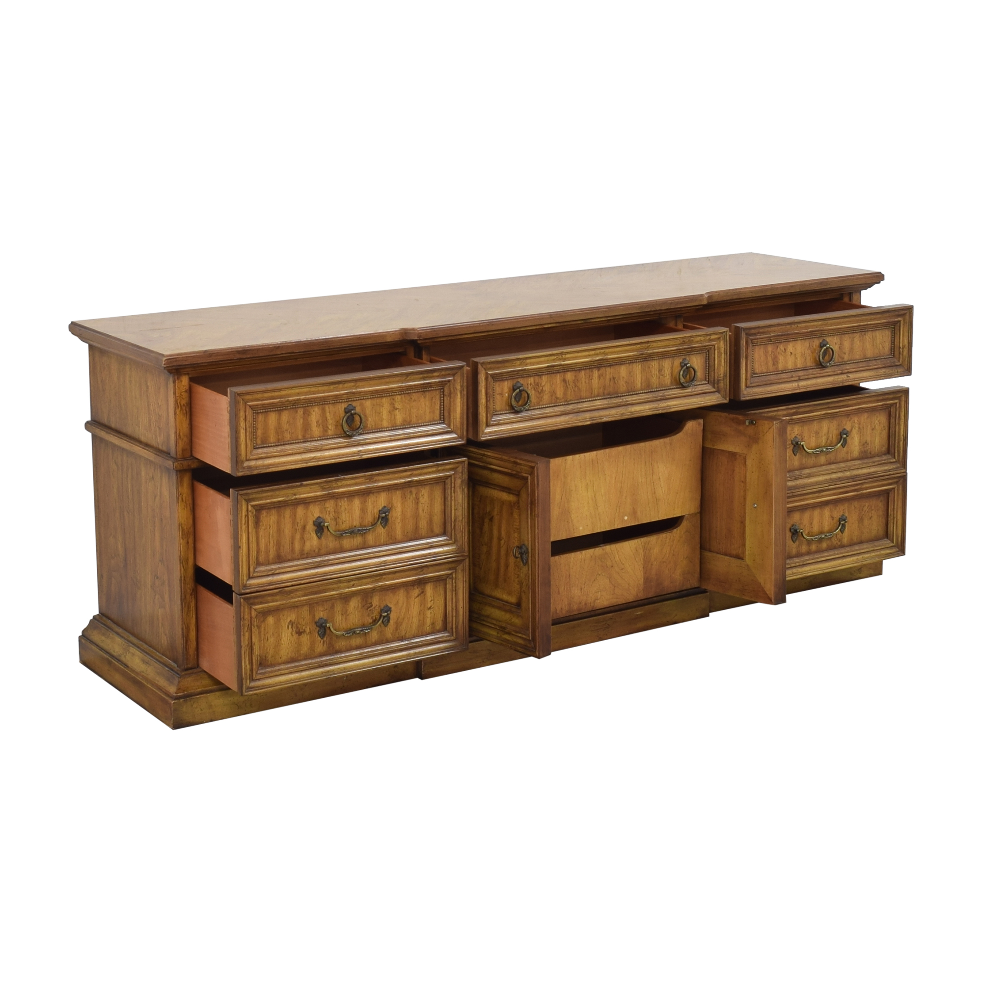 shop Stanley Furniture Triple Door Dresser Stanley Furniture