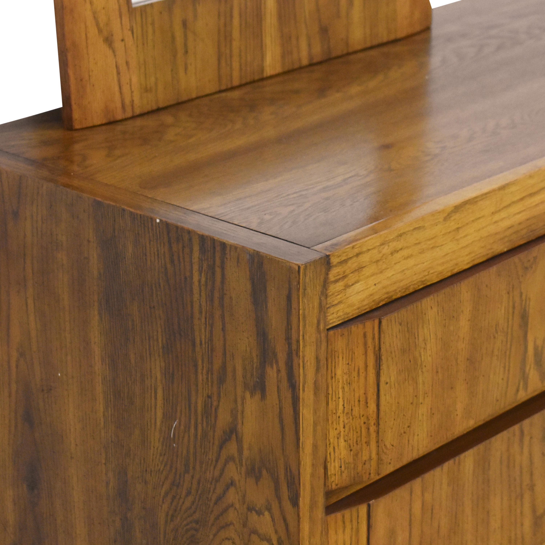 Thomasville Huntley by Thomasville Triple Dresser with Mirrors Storage