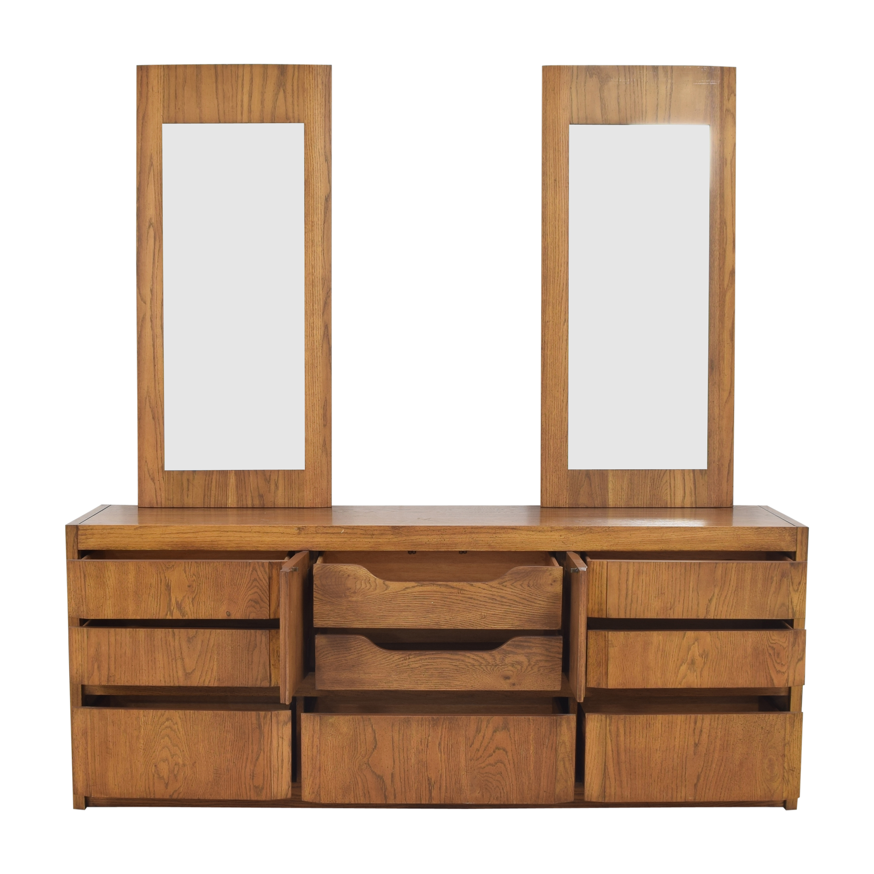 buy Thomasville Huntley by Thomasville Triple Dresser with Mirrors online