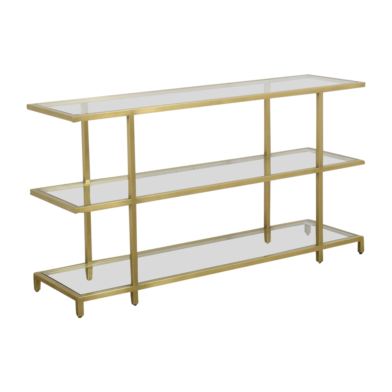 Williams Sonoma Williams Sonoma Tribeca Console Table dimensions