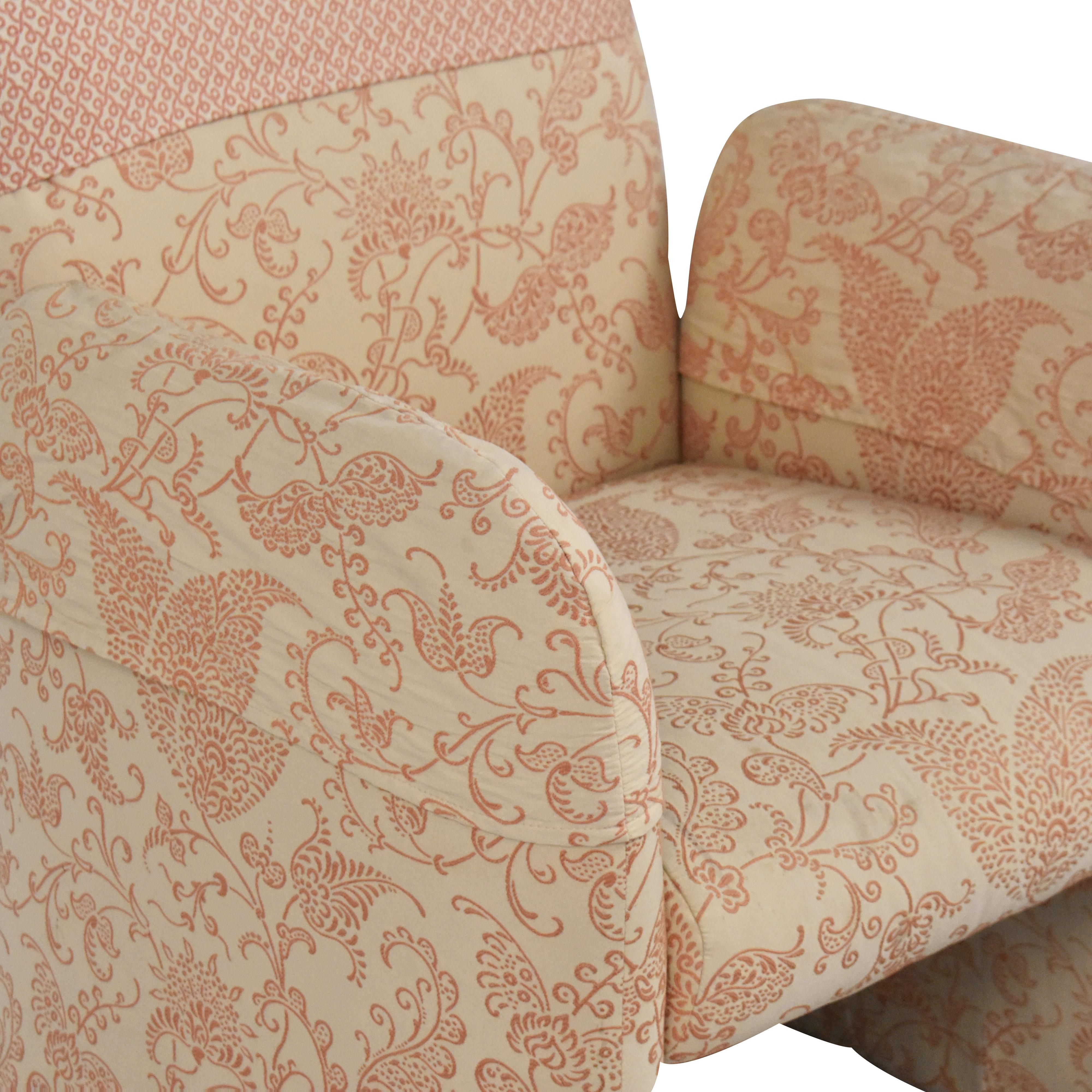 Bloomingdale's Bloomingdale's Milo Baughman-Style Club Chair dimensions