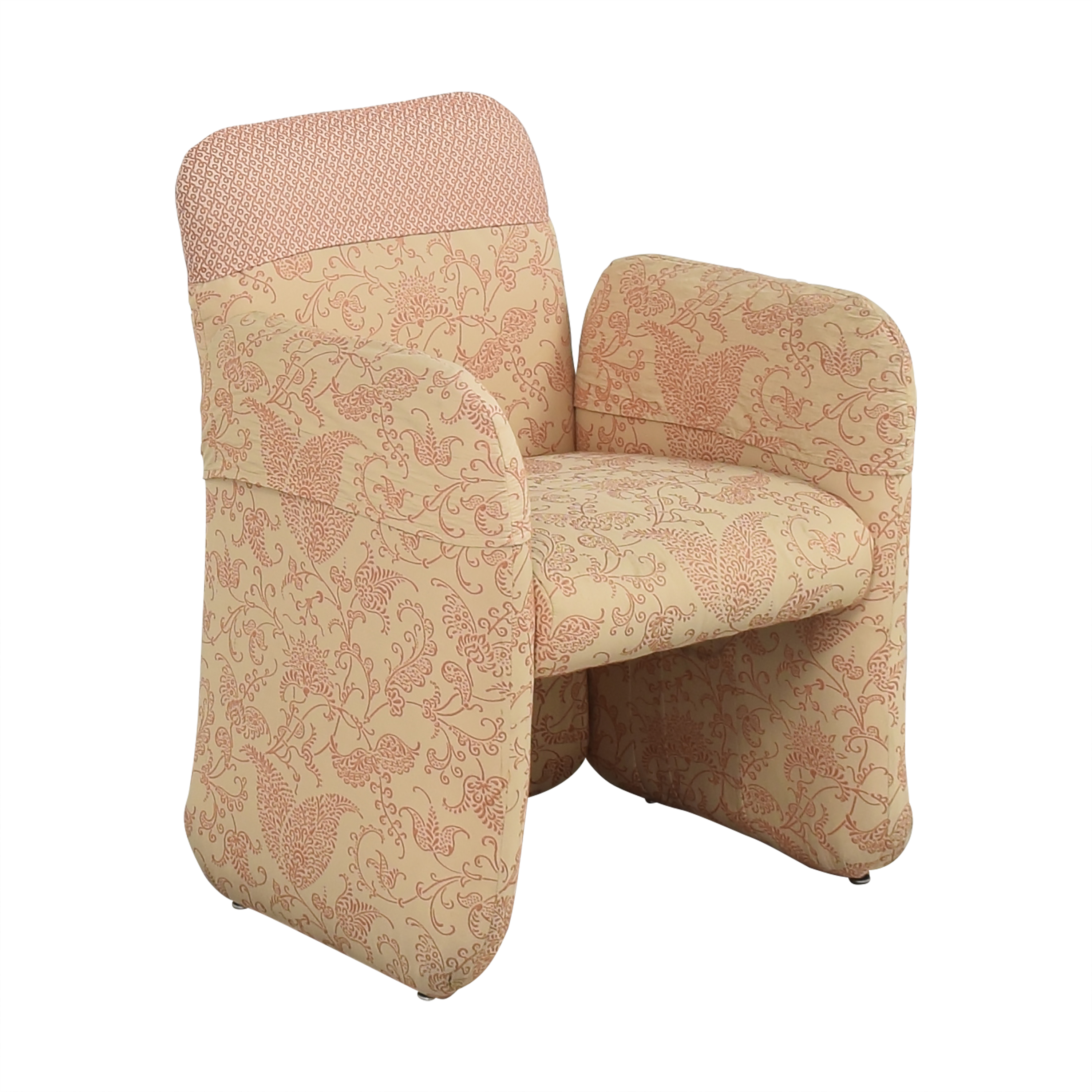 buy Bloomingdale's Milo Baughman-Style Club Chair Bloomingdale's Accent Chairs
