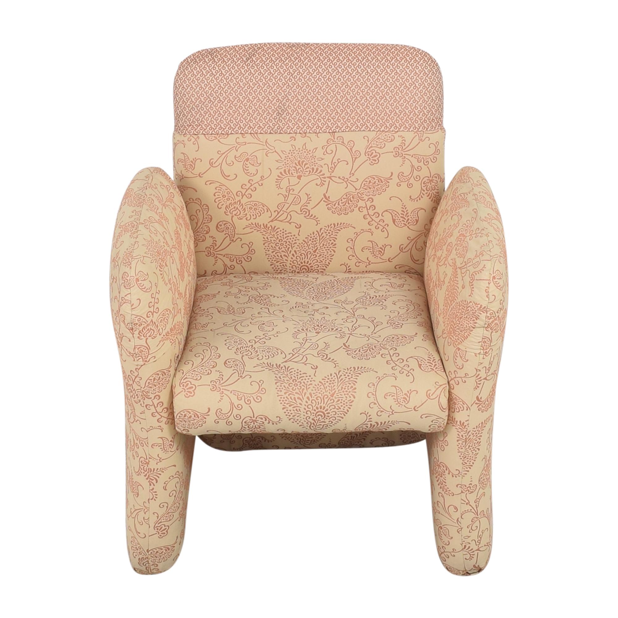 shop Bloomingdale's Milo Baughman-Style Club Chair Bloomingdale's Chairs