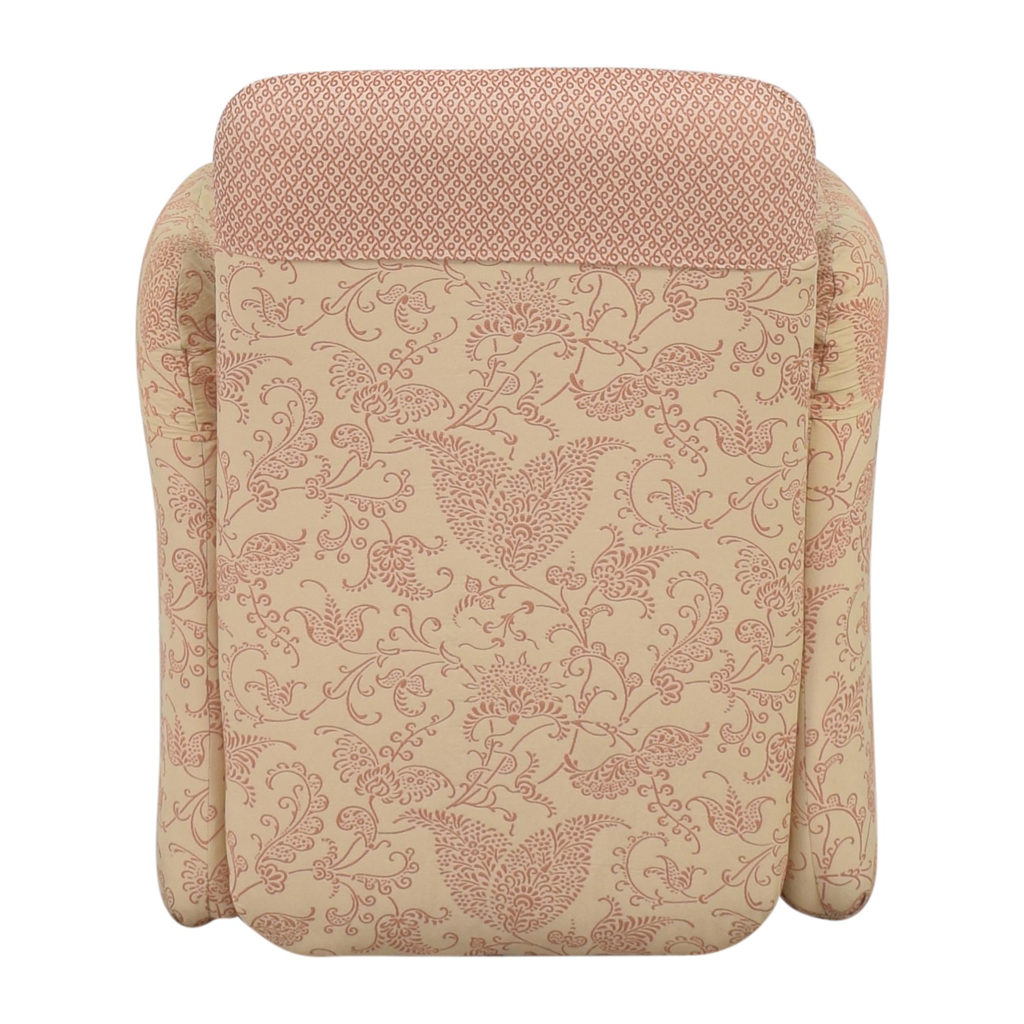 Bloomingdale's Milo Baughman-Style Club Chair sale