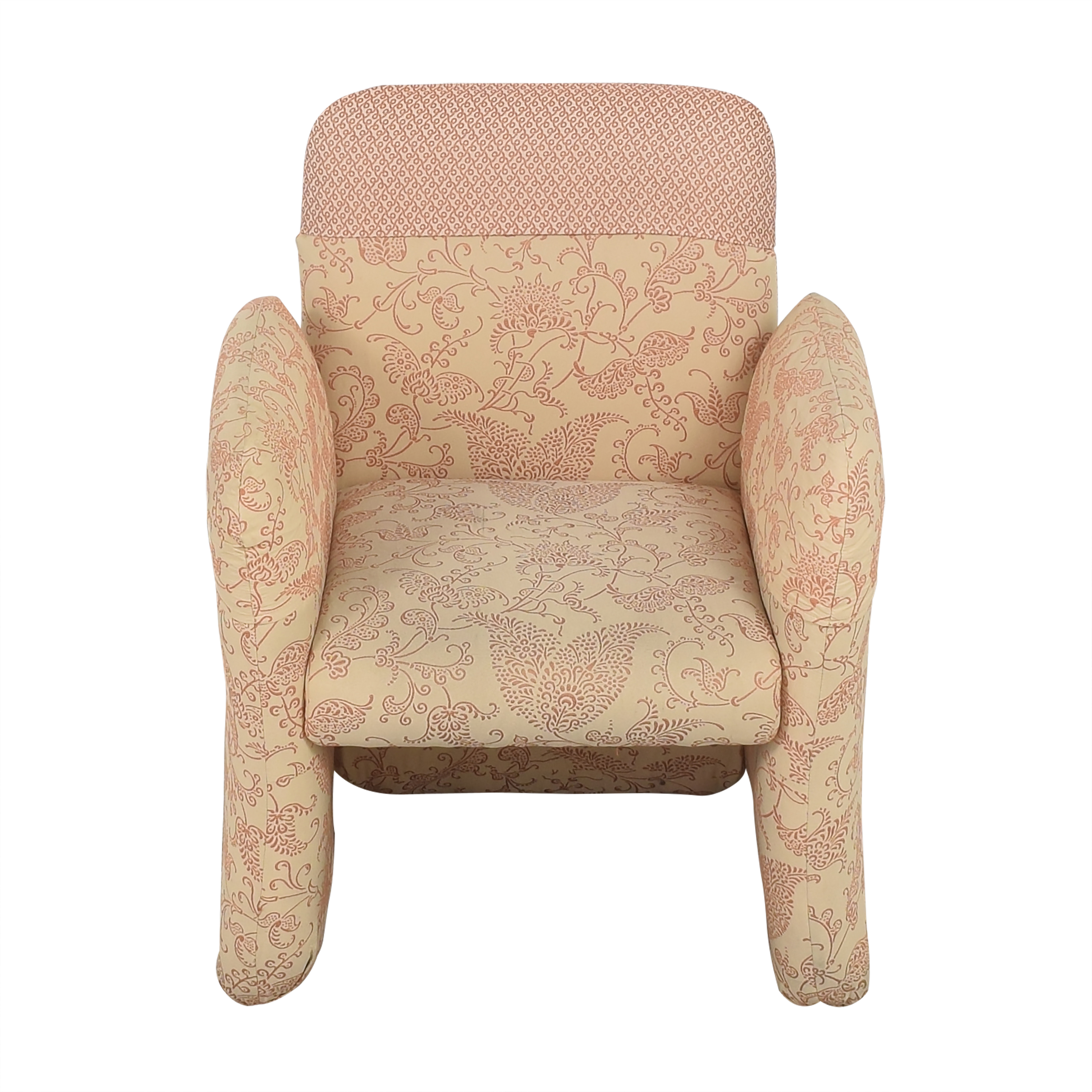 Bloomingdale's Milo Baughman-Style Club Chair / Accent Chairs
