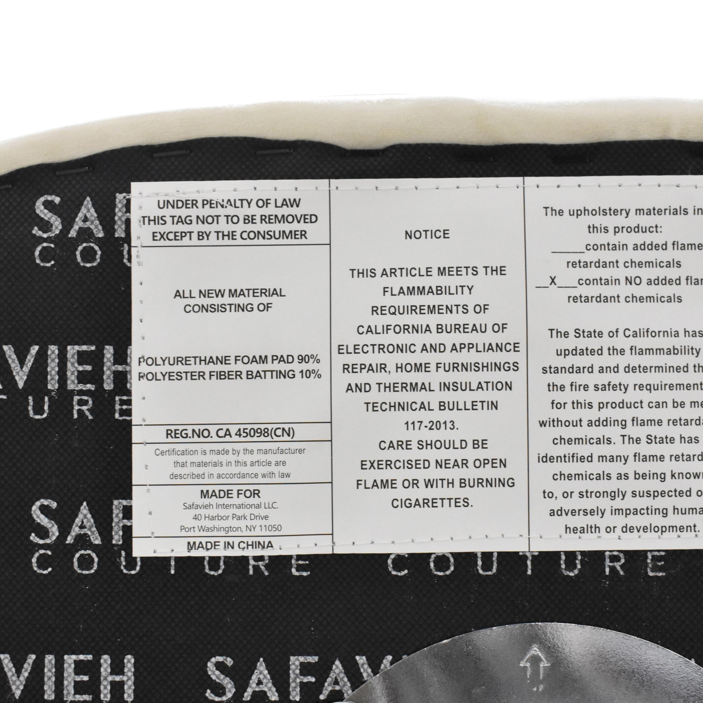 shop Safavieh Couture Ellsworth Adjustable Barstool Safavieh Stools