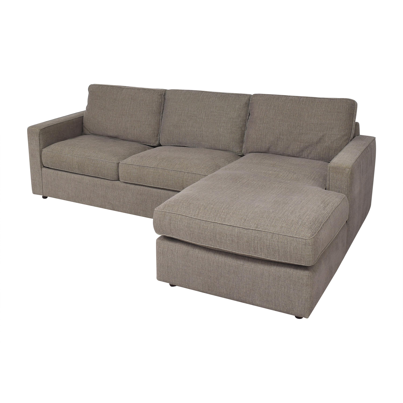 shop Room & Board York Sleeper Sofa with Chaise Room & Board