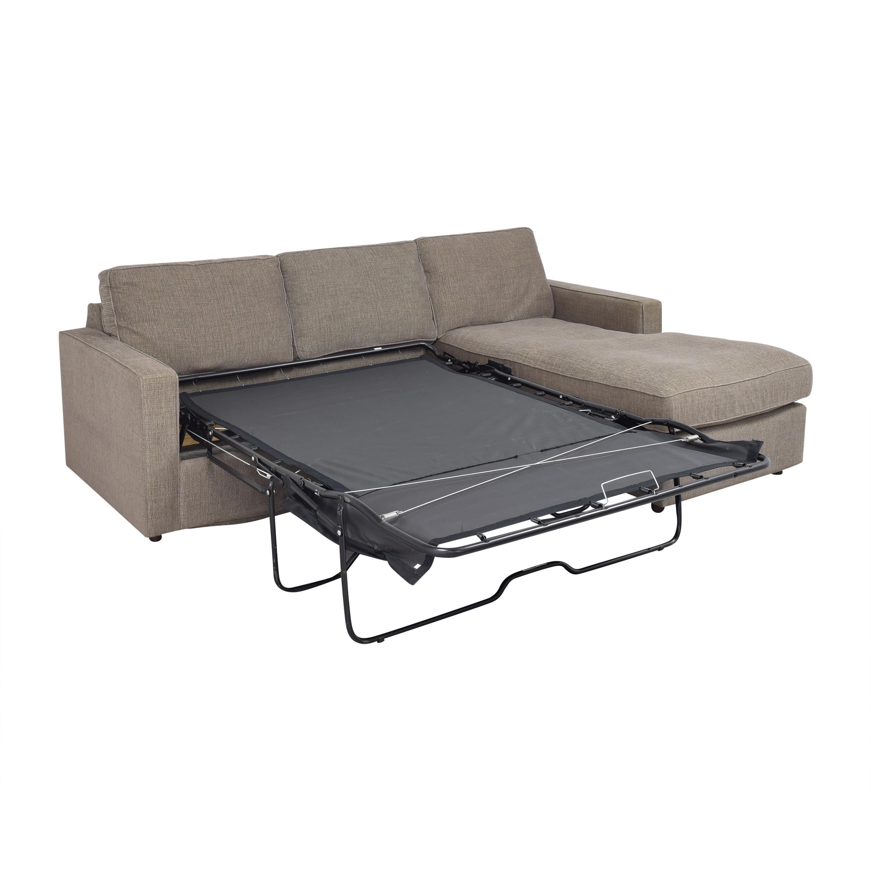 Room & Board Room & Board York Sleeper Sofa with Chaise coupon