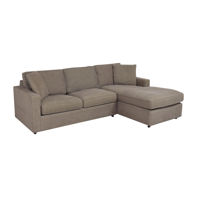 Room & Board Room & Board York Sleeper Sofa with Chaise Sofas