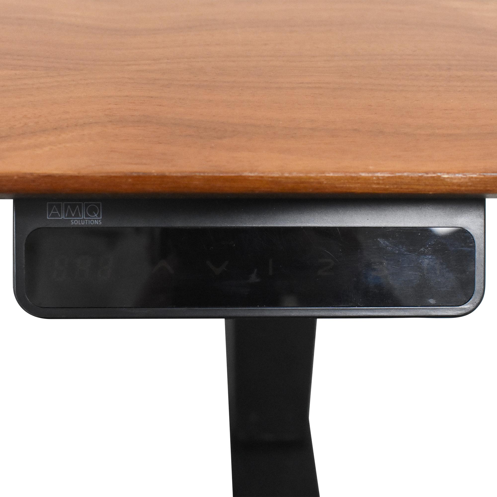 buy West Elm Mid Century Sit + Stand Adjustable Desk West Elm