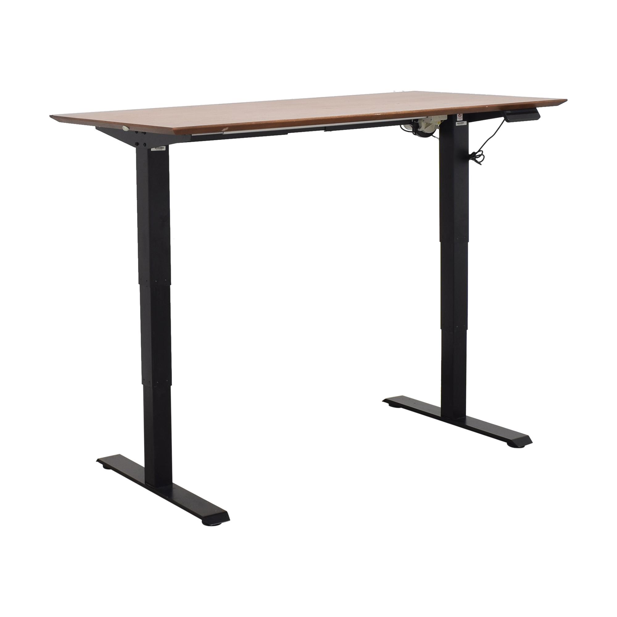 buy West Elm Mid Century Sit + Stand Adjustable Desk West Elm Tables